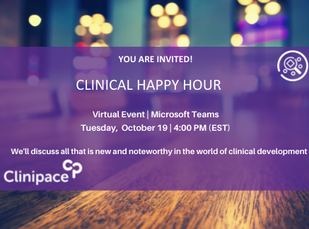 October 19 Clinical Happy Hour: Virtual Event