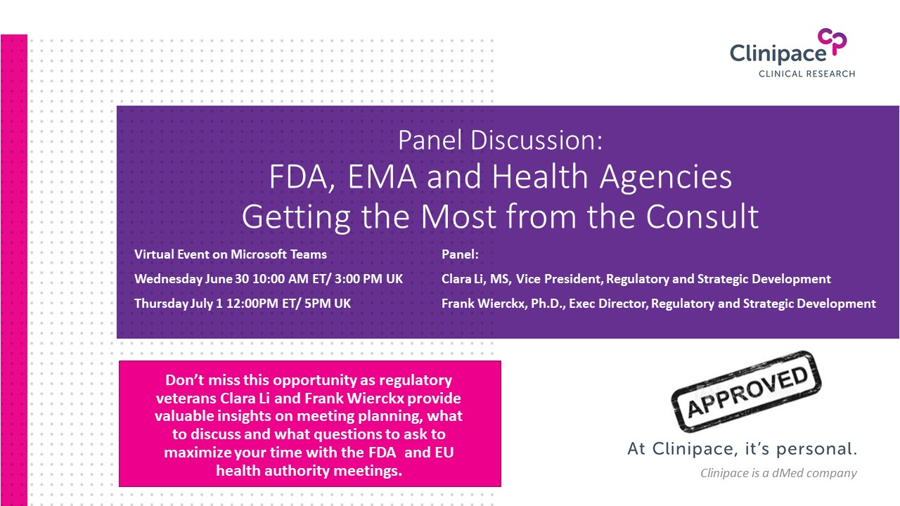 FDA, EMA and Heath Agency Meetings – Getting the Most from the Consult